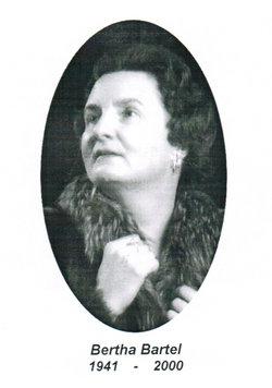 Bertha <I>Wiebe</I> Bartel