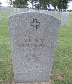 PFC Allen Hampton, Jr