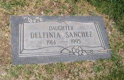 Delfinia Sánchez