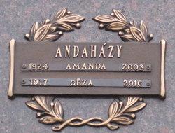 Amanda Maria <I>Krauth</I> Andahazy
