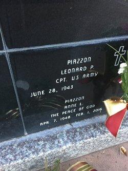Mrs Anne L. Piazzon