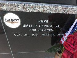 Walter Gerald Karr, Jr