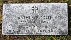 "Arthur Raymond ""Art"" Cote"