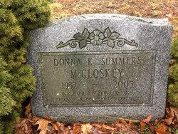 Donna Kay <I>Sigel</I> McCloskey