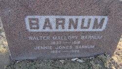 Jennie <I>Jones</I> Barnum