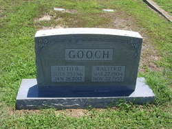 Ruth <I>Brewer</I> Gooch Eason