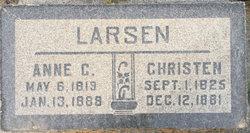 Anne <I>Christensen</I> Larsen