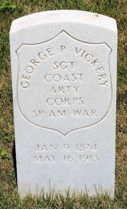 SGT George P Vickery