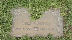 Lella F. <I>Hewett</I> Justice