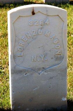Pvt Lorenzo Mason