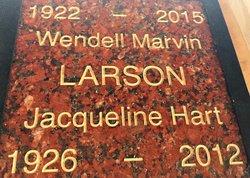 Jacqueline <I>Hart</I> Larson