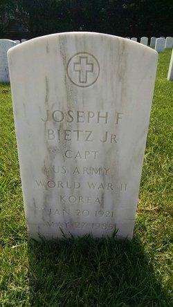 Joseph Francis Bietz, Jr