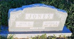 Effie Ella <I>Smith</I> Jones