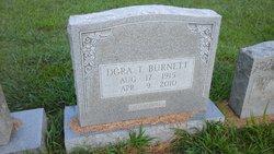 Dora Mosezelle <I>Tipton</I> Burnett