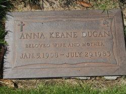 Anna <I>Keane</I> Dugan
