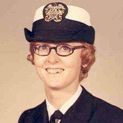 Red Headed Navy Nurse