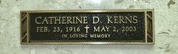 Catherine D. Kerns