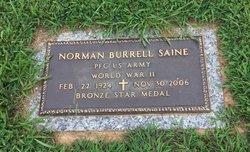 Norman Burrell Saine