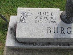 Elsie D <I>Sims</I> Burgess