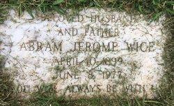 Abram Jerome Wice