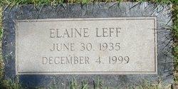 Elaine Leff