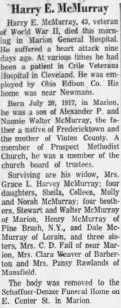 "Harry E. ""Mick"" McMurray"