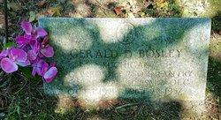 Gerald D. Bosley
