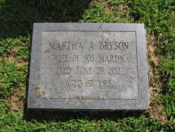 Martha <I>Bryson</I> Martin