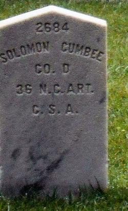 Pvt Solomon Cumbee