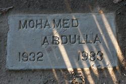 Mohamed Abdulla