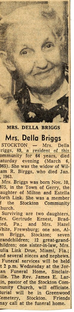 Della <I>Link</I> Briggs