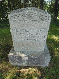 Elsie K. <I>Gordon</I> Bridges