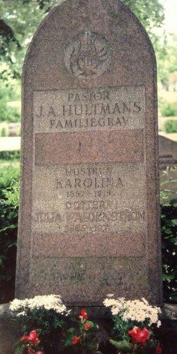 Julia <I>Hultman</I> Waldenstrom