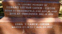 Edna Theophila <I>Green</I> Carew-Gibson