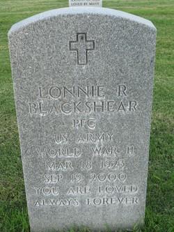 Lonnie R Blackshear