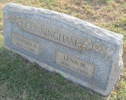 "Abelina ""Lena"" <I>Maxwell</I> Cunningham"