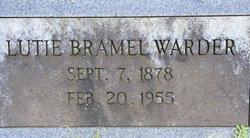 Lutie S. <I>Bramel</I> Warder