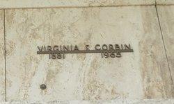 Mrs Virginia F. Corbin