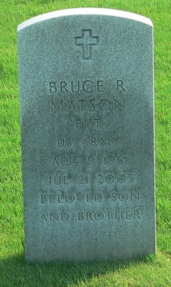 Bruce R Matson