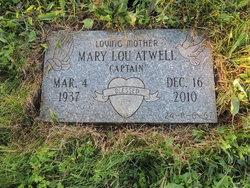 """Mary Lou """"Captain"""" <I>Massey</I> Atwell"""