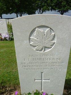 Pvt Thomas F Hartshorne