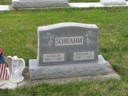 Agnes Mary <I>Dickman</I> Schramm