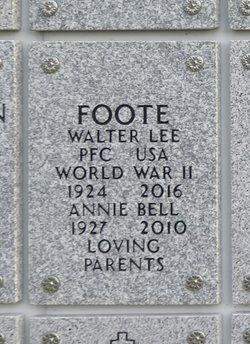 Walter Lee Foote