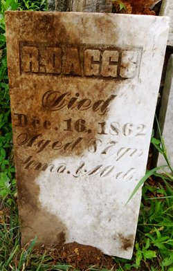 Daggs headstone