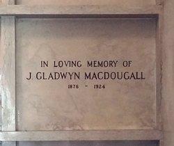 John Gladwyn MacDougall