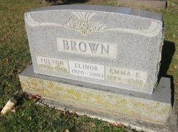 Fulton E Brown