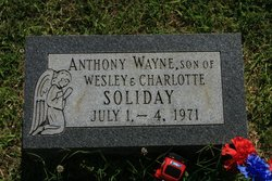 Anthony Wayne Soliday