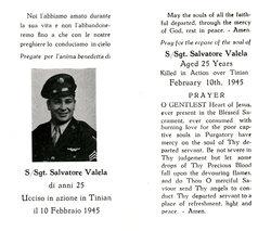 SSGT Salvatore Valela