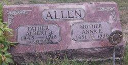 Anna E <I>Edwards</I> Allen