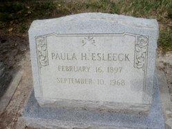 "Pauline Sarah ""Paula"" <I>Hitchings</I> Esleeck"